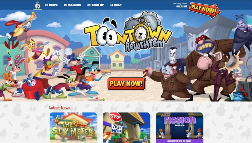 Toontown Rewritten Rebrand/Website