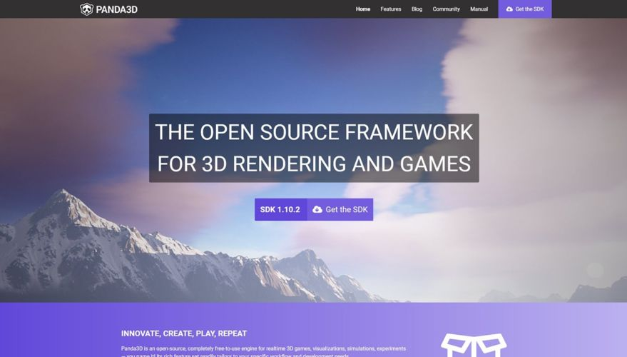 Panda3D Rebrand/Website
