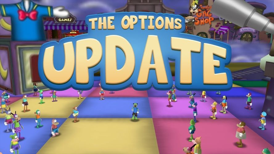 The Options Update (Toontown)